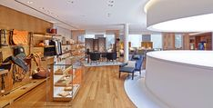 Inside the newly reopened flagship Hermes on Rodeo Drive.