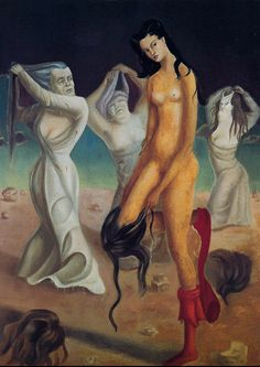 Leonor Fini, The Apotheosis of Intermission, 1935-36