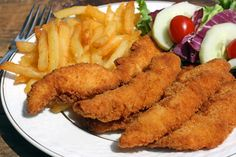 World's most delicious Halal Chicken Tenders (In my humble opinion).