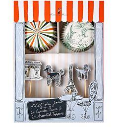 Paris Cupcake Kit