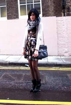 Winter floral detailing, style style fashion!