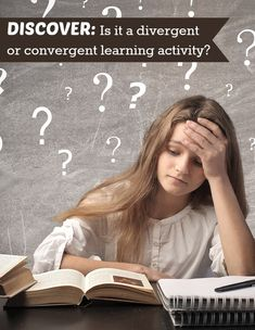 Quiz Yourself  -  Examples of Divergent and Convergent Thinking Activities