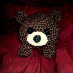 Crochet Cuddle Bear by GoodKarmaCrochet on Etsy