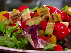 Chopped Grilled Summer Salad #myplate #veggies