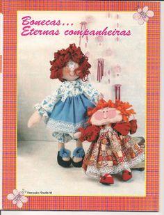 Postando Sobre Artes: bonecos de pano