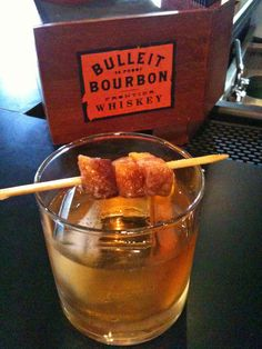 Urban Stack's Bacon-Infused Manhattan......the insanity.......