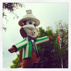 Fairchild is presiding over the @mnstatefair. We hope to see you out here soon! #mnstatefair #OnlyinMN