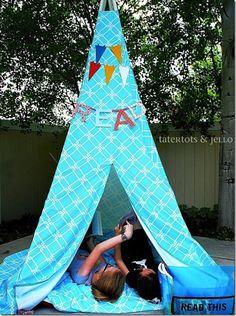 DIY Reading Tent