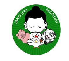 "In Bhutan, Meatless Monday is known as ""Jangsem Monday"" and promoted to a national audience on the TV show Jangchub Shing!"