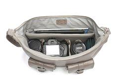 Ona Shoulder Bag: Handcrafted with full grain leather: $329 #Camera_Bag #Ona