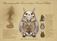 forests, anatomi, deviantart secret, totoro fanart, neighbor totoro, forest spirit