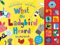 Enjoy reading through Julia Donaldson's popular What the Ladybird Heard - now with added sound effects!
