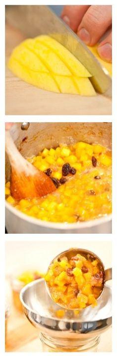 How To Make Your Own Mango Chutney