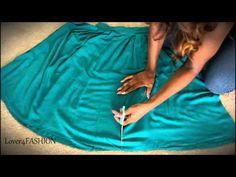 DIY Hi-Low Skirt ● Revamp An Old Wardrobe Piece