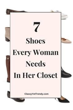 7 Shoes Every Woman