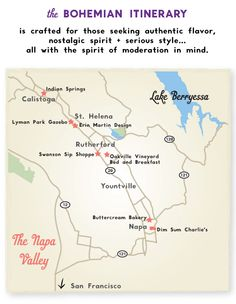 The Bohemian Itinerary- 24 hours in Napa, from Alexis' Napa for the Curious & Eccentric