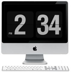 graphic design, flip clock, fliqlo screensav, free download, design thing, screen saver, mac, flipclock screensav, clocks