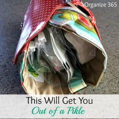 This Will Get You Out of a Pikle!  | Organize 365