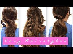 Peinados fáciles para el otoño - Peinados Magazine