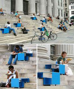 Cool urban furniture
