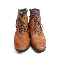 Vintage Sweater Boots