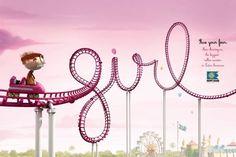 Hopi Hari Theme Park: Roller Coaster, Girl