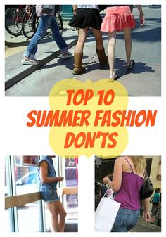 17 Summer Fashions That Need to GO. Now.