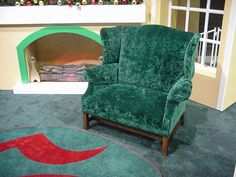 Santa's Wingback Chair