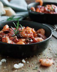 Garlic Shrimp in Tomato Sauce Recipe on Food & Wine