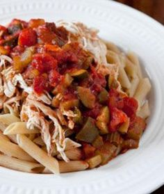 Slow Cooker Marinara #Chicken with Vegetables @SparkPeople