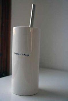 classy toilet brush holder