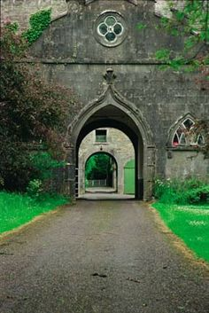 Slane Castle in Dublin, Ireland.