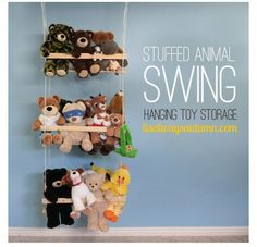 stuffed toys, organizing kids rooms, stuf anim, kid rooms, household organization