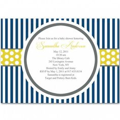 perfect nautical baby shower ideas
