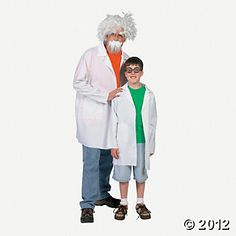 Lab Coat Adult Costume - for the host of the Doc McStuffins party!