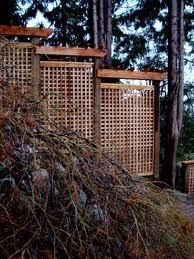 Another lattice fencing idea
