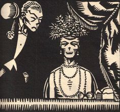 La Danse Macabre by Rene Georges Hermann-Paul, 1919