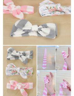 Easy DIY Baby Headbands | DIY Baby Shower Ideas for Girls | Click for Tutorial