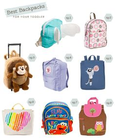 Best toddler backpacks