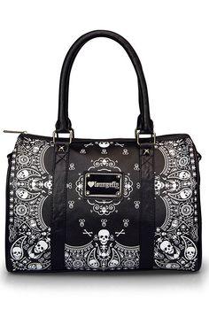 Bandana Skull Duffel Bag by Loungefly