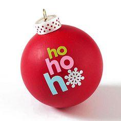 Adorable Handmade Christmas Ornaments: Sweet Sticker Ornament (via Parents.com)