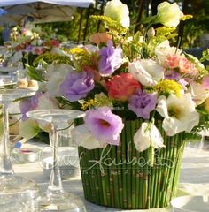 Cira Lombardo Wedding Coordinator in Italy. Tendenze moda 2013. Matrimonio Country Chic. Consigli per il centrotavola flore semilla, floral decor, countri chic, mi sposo
