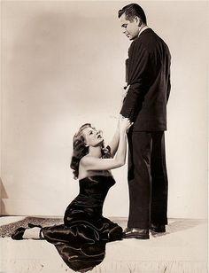 Rita Hayworth and Glenn Ford----in Gilda...best movie ever
