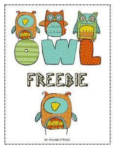 Owl Freebie