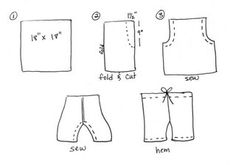 Pants/Shorts DIY