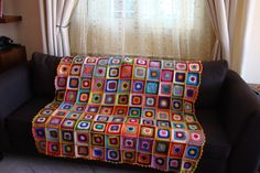 crochet blanket - beautiful work from Le Monde De Sucrette