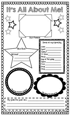 It's All About Me.pdf - Like. Good for the older kids.