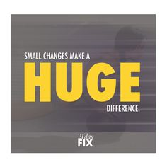 I love the 21 Day Fix because it's easy to make the small changes for 3 weeks to lose weight and feel so much better! Plus the workouts are only 30 minutes!