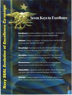The 7 Keys to Excellence from the Navy SEALS