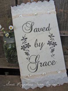 Vintage Feedsack Journal  Save By Grace  by SweetMagnoliasFarm, $36.50